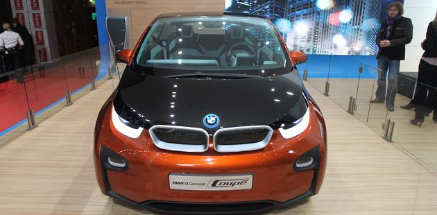 """La i3 Coupé Concept rappresenta proprio il lato più """"green"""" di BMW. (Photo4)"""