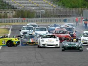 Lo start del Trofeo Turismo a Magione (Foto Paolo Ambrosi)