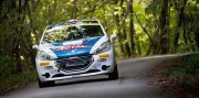 La 208 R2 del Peugeot Italia Rally Junior Team.