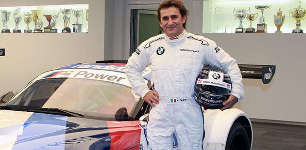 Alex Zanardi correrà al Blancpain GT Series con BMW