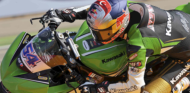 Kenan Sofuoglu con la Kawasaki si aggiudica la gara di Aragon della WSSP