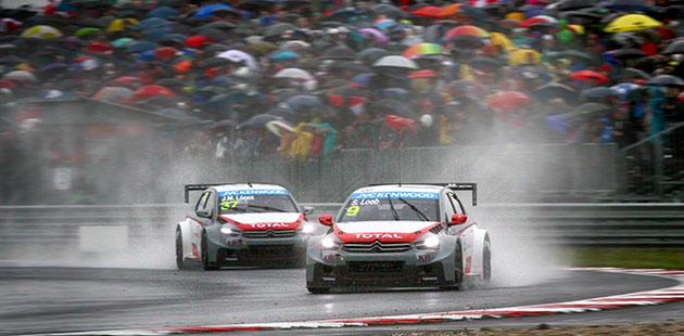 WTCC: allo Slovakiaring vince la pioggia