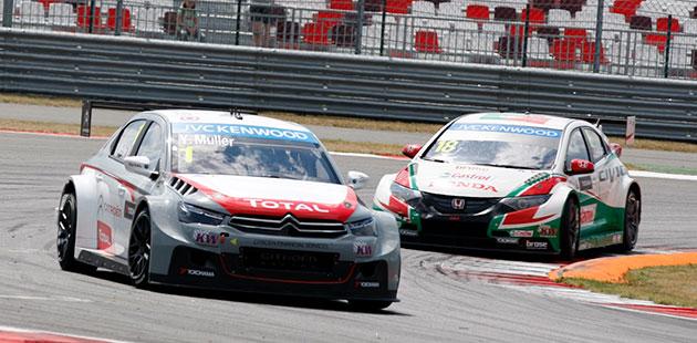 WTCC: a Mosca è ancora doppietta Citroën