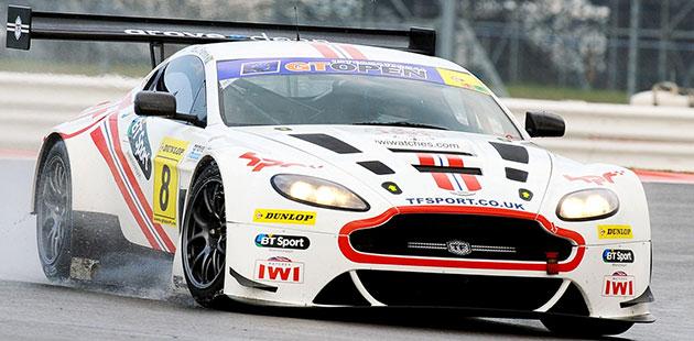 GT Open: Silverstone per Aston Martin