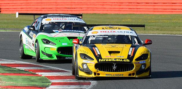 Calamia all'attacco dell'Europeo Maserati