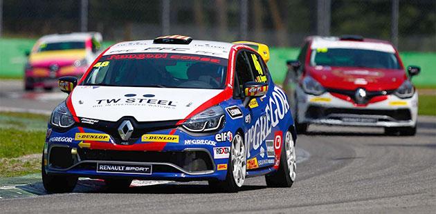 Clio Cup Italia: scintille a Monza