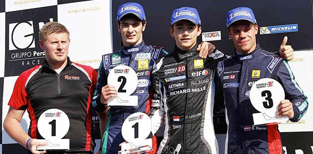 Formula 2.0 Alps: a Monza doppietta di Leclerc