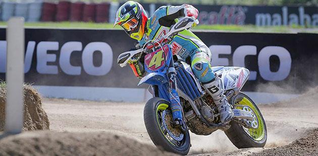 GP d'Italia Supermoto è di Thomas Chareyre