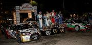 Il podio del Rally di Como (Foto Luca Spini)