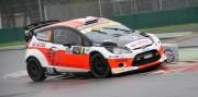 Robert Kubica vince il duello con Valentino Rossi e si aggiudica il Monza Rally Show (Foto Luca Spini)