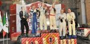 Il podio del Tuscan Rewind Storico (Foto M+ Race)