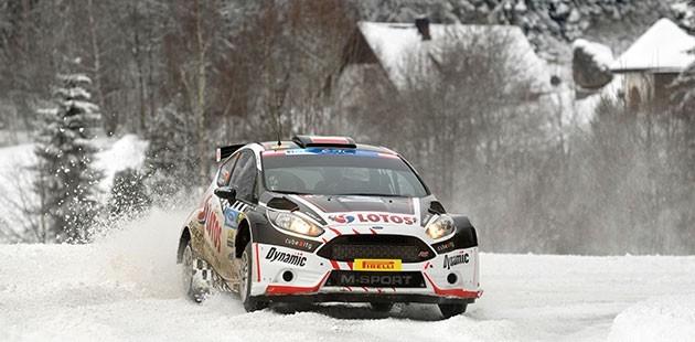 Kajetanowicz blinda lo Jänner Rallye