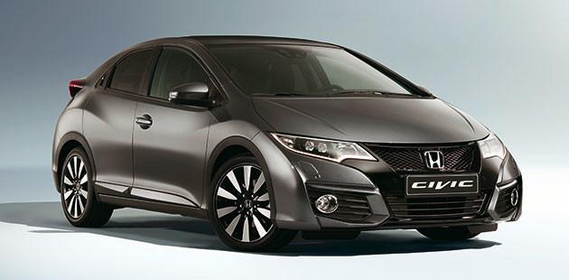 L'intera gamma Honda Civic si rinnova nel 2015.