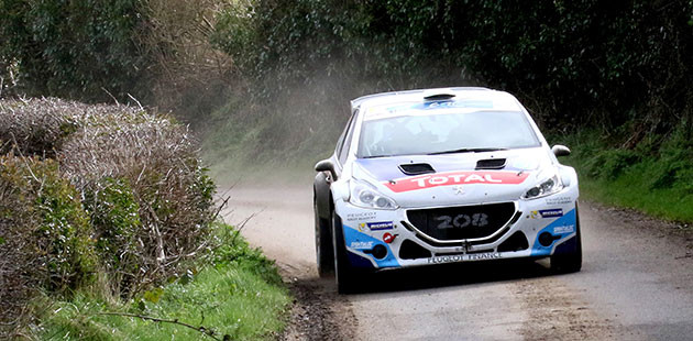 ERC: il Circuit of Ireland è di Breen