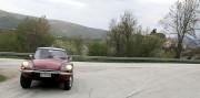 La grinta che non t'aspetti da una Citroen GS. Sullo sfondo il paesino di Appennino.