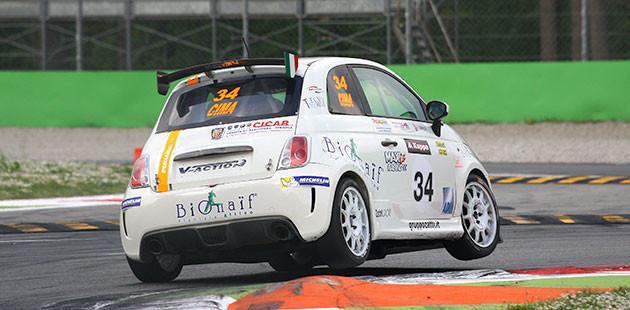 Franco Cimarelli, poleman in gara 2, è il migliore nelle 500 Assetto Corsa (Photo4)