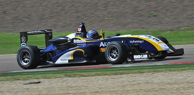 Pierino torna in auge nella F2 Italian Trophy