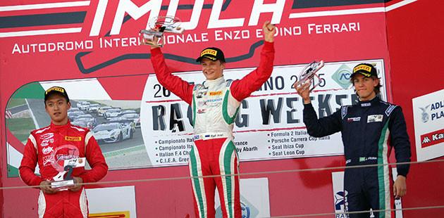 Formula 4: Imola rilancia Aron