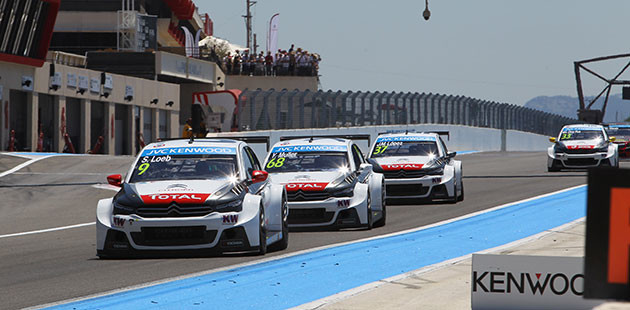 WTCC: Citroen colora il Paul Ricard
