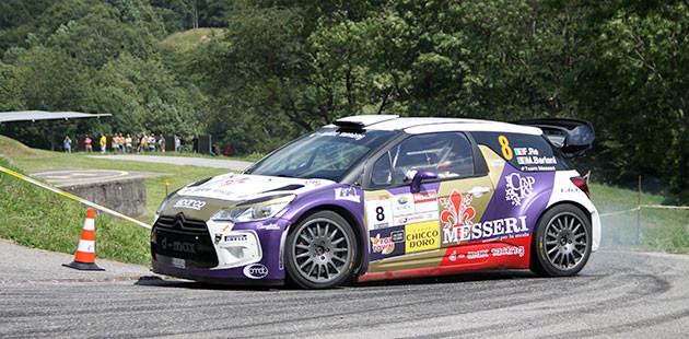 Felice Re e Mara Bariani vincitori del Rally del Ticino (Foto Luca Spini)