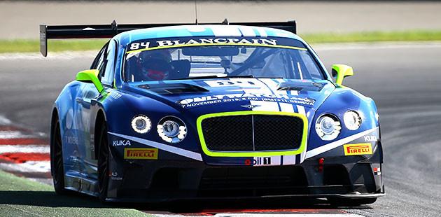 Blancpain Sprint Series: Bentley a Mosca