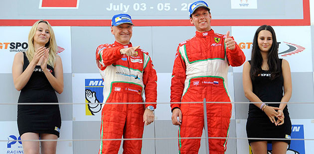 15.07.05_PI_GT Open_Red Bull Ring_Sdanewitsch_Melnikov_Am
