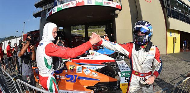 Italian F.4: al Mugello ancora Aron