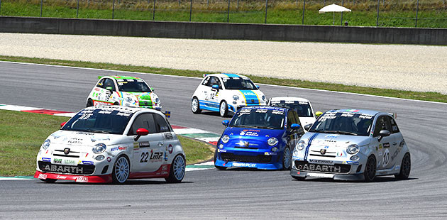 Trofeo Abarth: invasione scandinava