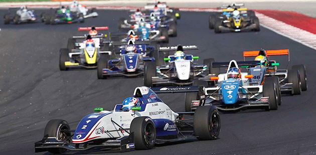 Formula Renault: brillano Aitken e Hughes