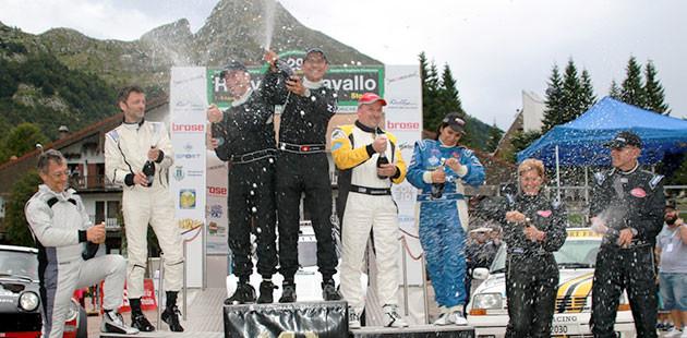 Comas accende il Rally Piancavallo Storico