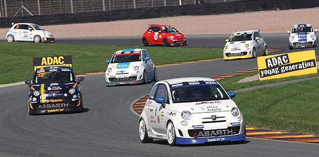 Campani torna alla vittoria nel Trofeo Abarth