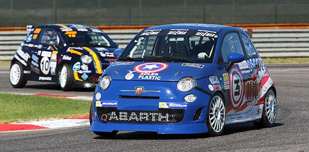 Trofeo Abarth: la prima di Barberini