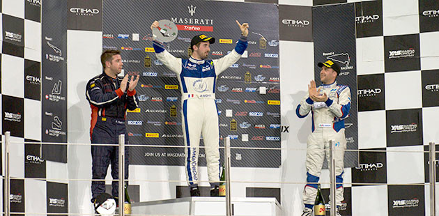 Monti sesto re del Maserati Trofeo World Series