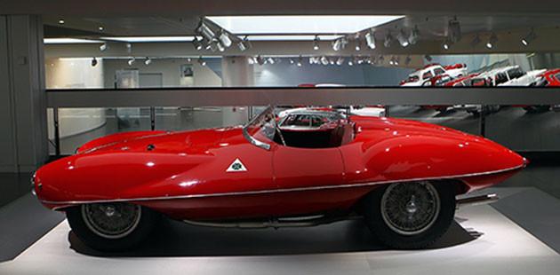 1900 C52 Disco Volante del 1952 (Foto Marco Vitali)