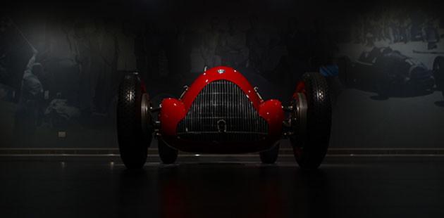 Il Museo ospita i pezzi più significativi della collezione storica Alfa Romeo (Foto Marco Vitali)