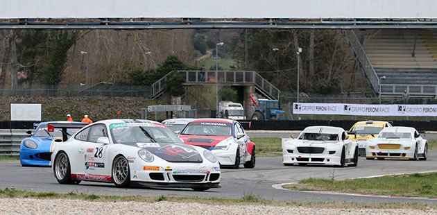 Martini e Cimarelli nella prima del Trofeo d'Inverno