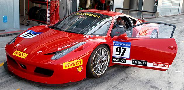Ferrari Challenge: countdown partito