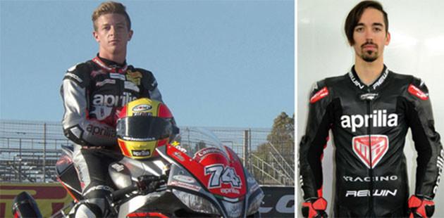 Nuova M2 Racing rinnova con Aprilia