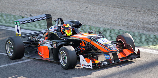 Vallelunga: test FIA F3
