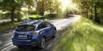 Nel posteriore di Subaru XV nuovi fari con LED e spoiler con funzioni sia estetiche che aerodinamiche