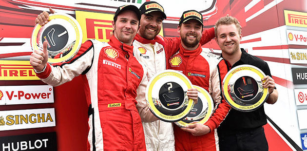 Ferrari Challenge: Italiani ok a Monza