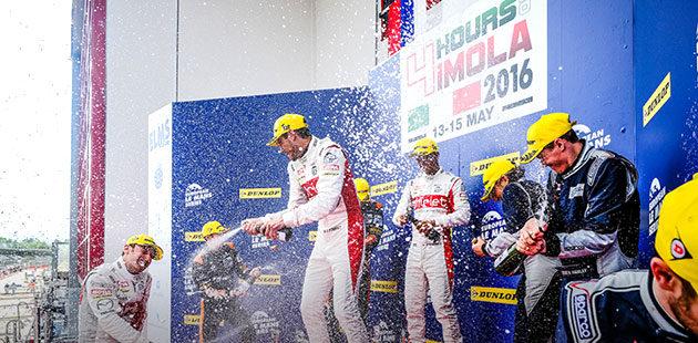 ELMS: a Imola TDS Racing vince sotto la pioggia