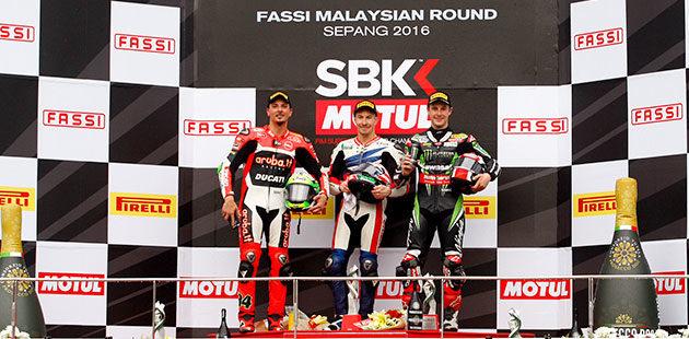 WSBK: in Malesia Sykes poi Hayden