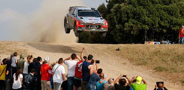 WRC: al Rally d'Italia Sardegna scocca l'ora di Neuville