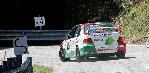 Gabriella Pedroni vince l'assoluta di Gruppo A con la Mitsubishi Lancer (Foto Claudio Ricciotti)