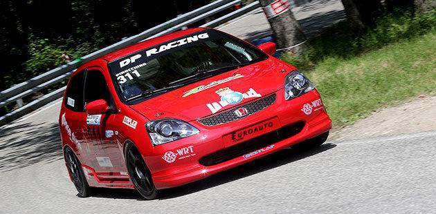 Tra le Plus domina la Honda Civic di Giuliano Pirocco (Foto Claudio Ricciotti)