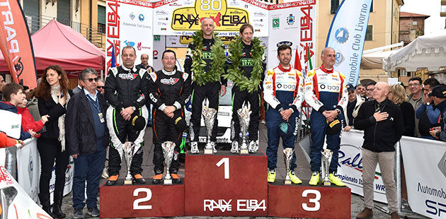 Porro svetta al Rally dell'Elba