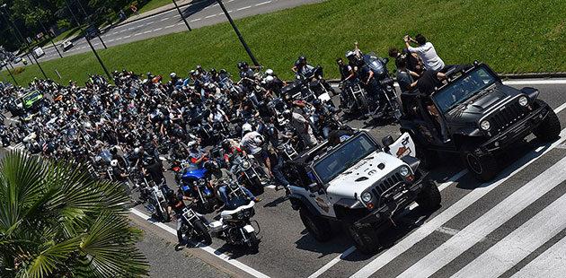Jeepers & Bikers in raduno a Torino