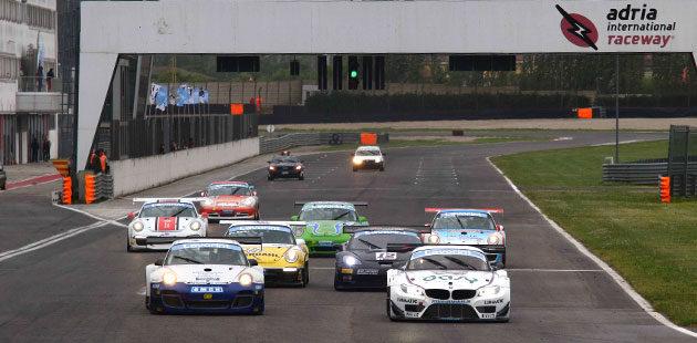 La partenza della Coppa Italia Gran Turismo