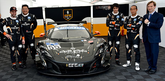 Roger Dubuis e FFF Racing Team